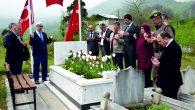 Şehit Cantürk, mezarı  başında dualarla anıldı