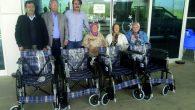 Hayırseverden hastaneye tekerlekli sandalye