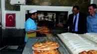 Vali'den ekmek fırınına takdirname