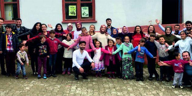 Eşit İmkanlar Platformu'ndan  Espiye Seydiköy Okulu'na yardım