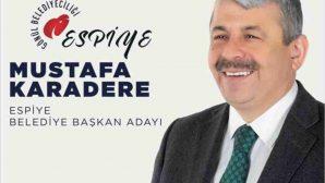 "KARADERE,""TÜM MUHTAR VE ADAYLARINA MESAFEMİZ AYNIDIR"""