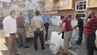 Türkiye Diyanet Vakfı'ndan selzedeye yardım