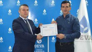 Sezai Kahveci Deva Partisi Espiye ilçe başkanı oldu